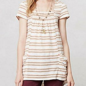 Anthropologie Meadow Rue Marin Pocket Tunic